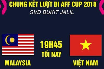 Link xem Việt Nam vs Malaysia, 19h45 ngày 11/12