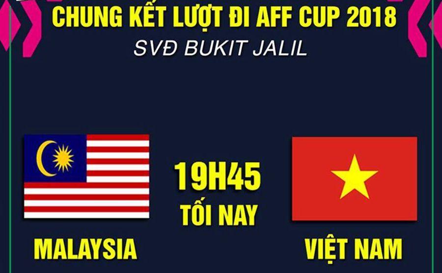 Tuyển Việt Nam,Malaysia,chung kết AFF Cup 2018,Việt Nam vs Malaysia