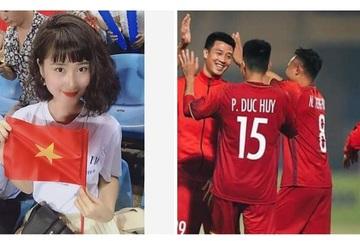 Dàn bạn gái cầu thủ gửi lời chúc đội tuyển Việt Nam trước giờ bóng lăn