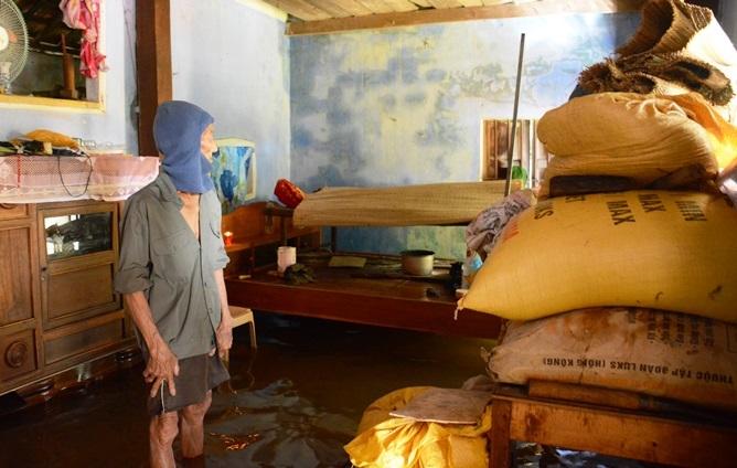 Quảng Nam lụt kỷ lục: Ông ngoại đau đớn thấy cháu chết bên cây khế