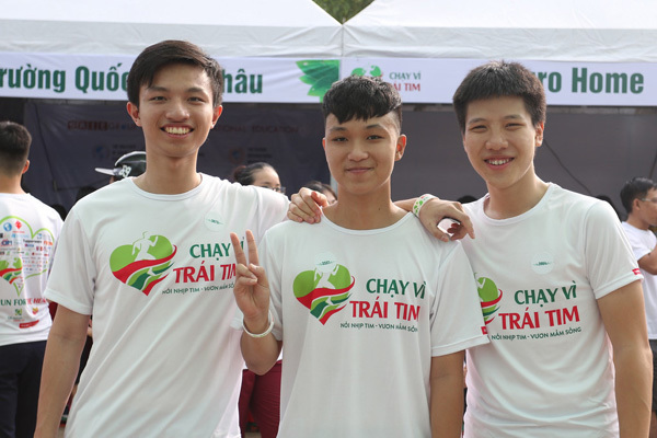 Trường Quốc tế Á Châu đồng hành 'Chạy vì trái tim 2018'