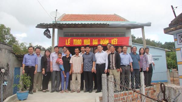 2 năm, hơn 58 tỷ đồng hỗ trợ hộ nghèo Phú Yên xây nhà
