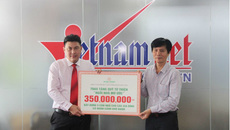 Hưng Thịnh tặng 350 triệu đồng xây nhà cho người nghèo