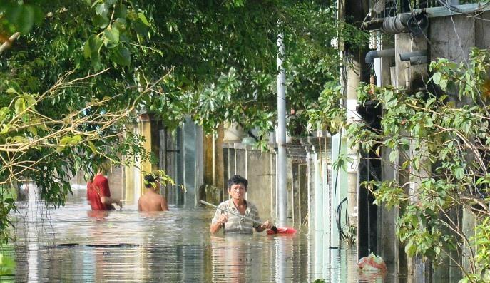 Ngập lụt,mưa lớn,miền Trung