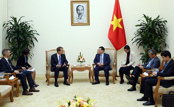 Google,Phó Thủ tướng,Vương Đình Huệ,Phó Chủ tịch tập đoàn Google,Kent Walker