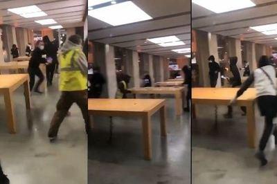 Cửa hàng Apple Store bị cướp sạch trong vụ biểu tình tại Pháp