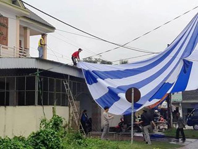 Nhà Quang Hải dựng rạp, mổ lợn xem chung kết AFF Cup 2018