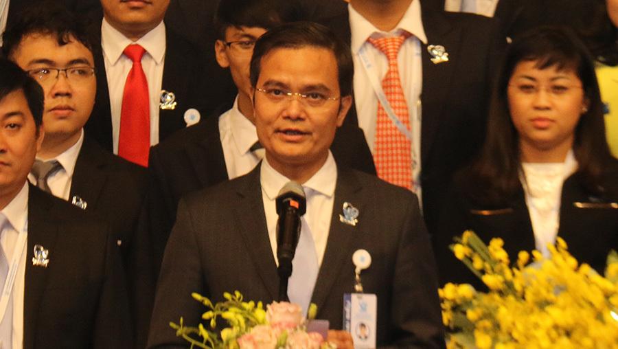 Anh Bùi Quang Huy trở thành tân Chủ tịch Hội Sinh viên Việt Nam
