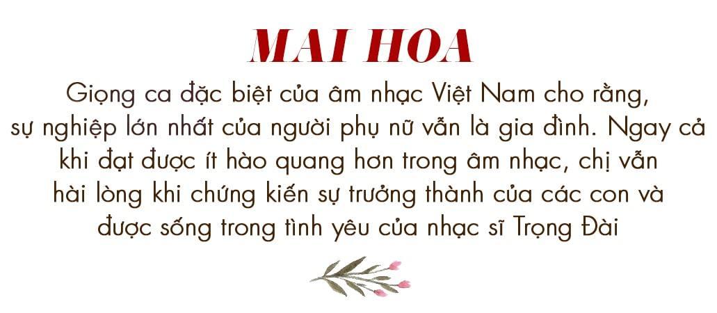 NSƯT Mai Hoa,Trọng Đài