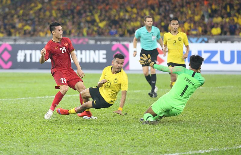 Tuyển Việt Nam,tuyển Malaysia,Chung kết AFF Cup 2018,HLV Park Hang Seo,Đặng Văn Lâm