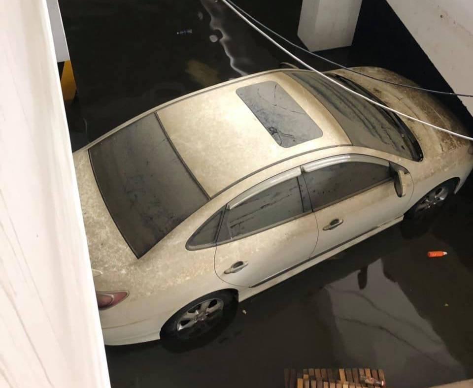 Bảo hiểm xe,thủy kích,xe ngập nước