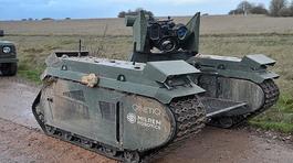 """Anh ra mắt xe tăng """"sát thủ"""" siêu nhỏ, không người lái"""