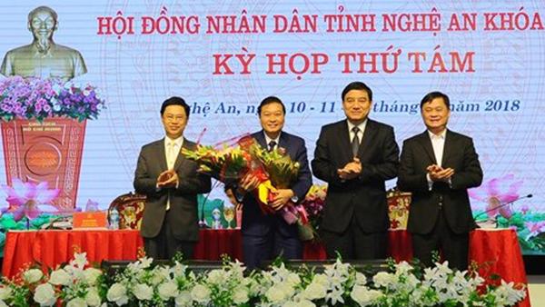 Nghệ An có tân Phó chủ tịch tỉnh