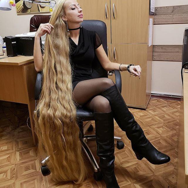 Ngắm vẻ đẹp của 'công chúa tóc mây' Ukraina
