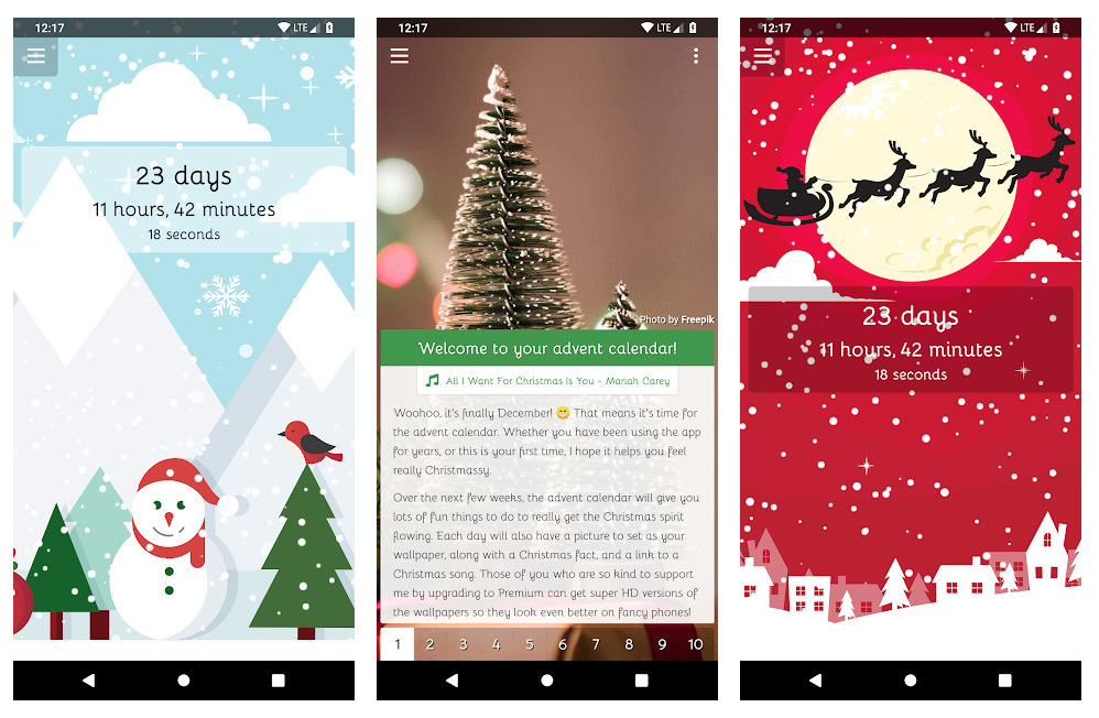thủ thuật iPhone,thủ thuật Android,Giáng sinh
