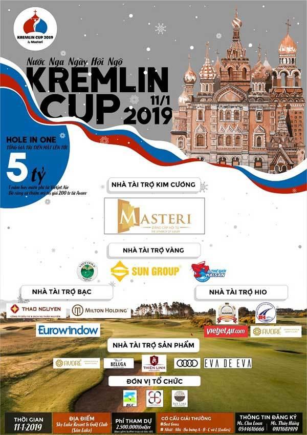 140 golf thủ dự giải 'KremlinCup 2019 by Masteri'