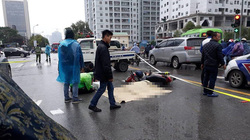 Va chạm ô tô, người đàn ông tử vong trong mưa rét