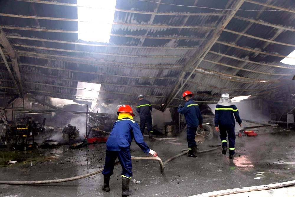 cháy xưởng,Hà Nội