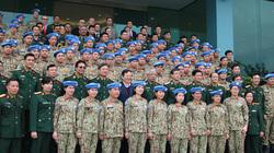 Ra mắt bệnh viện dã chiến số 2 tham gia gìn giữ hòa bình LHQ