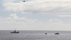 Phi công thoát chết gang tấc khi máy bay lao xuống biển