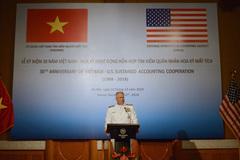 30 năm hợp tác tìm kiếm người Mỹ mất tích trong chiến tranh