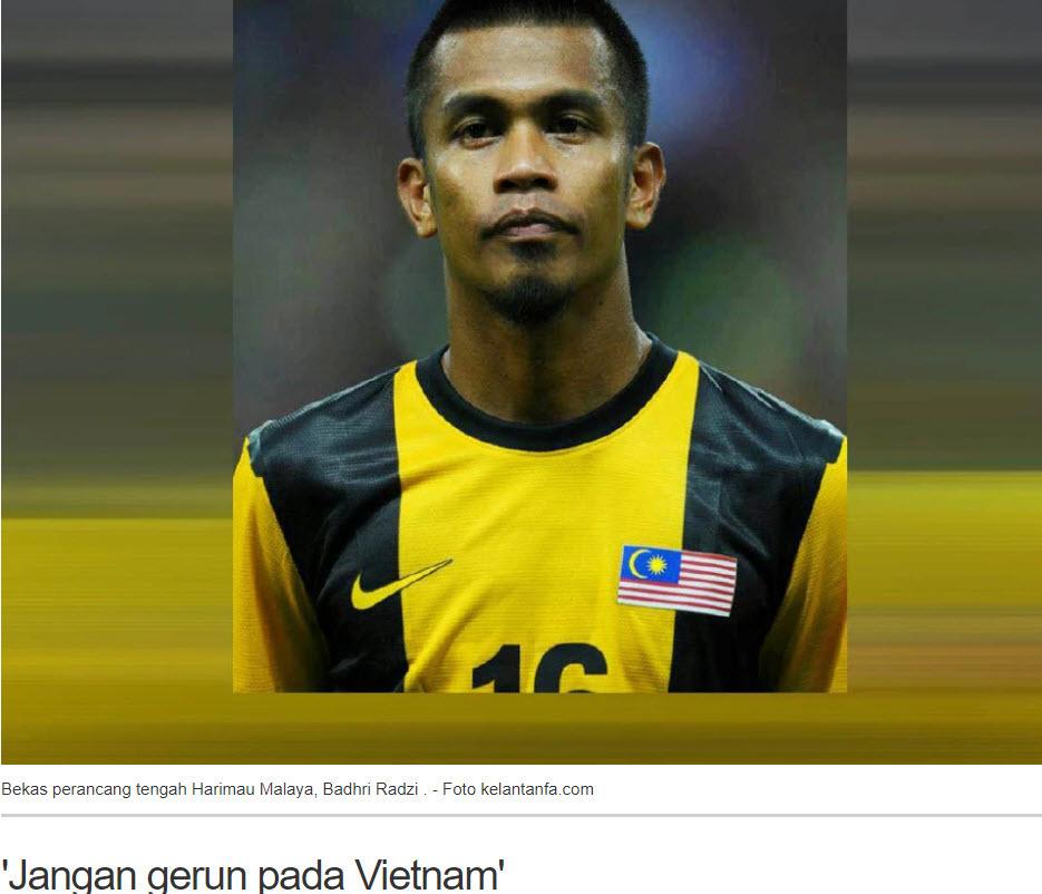 Người Malaysia hô hào: 'Đừng sợ Việt Nam!'