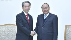 Thủ tướng tiếp các Đại sứ Trung Quốc, Đan Mạch