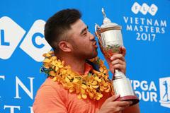 ĐKVĐ Andy Chu Minh Đức về nước dự giải FLC Vietnam Masters 2018