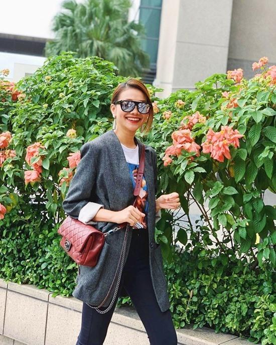 Thanh Hằng, Tăng Thanh Hà biến hóa với mốt áo blazer