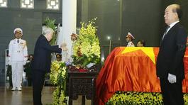 Lễ tang cấp Nhà nước nguyên Bí thư Thành ủy Hà Nội Nguyễn Văn Trân