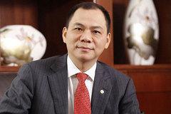 Ghi dấu chưa từng có Việt Nam: Phạm Nhật Vượng kỷ lục 10 tỷ USD