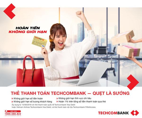 TechcombankVisa Debit: Từ nhu cầu thực đến tiêu dùng thông minh