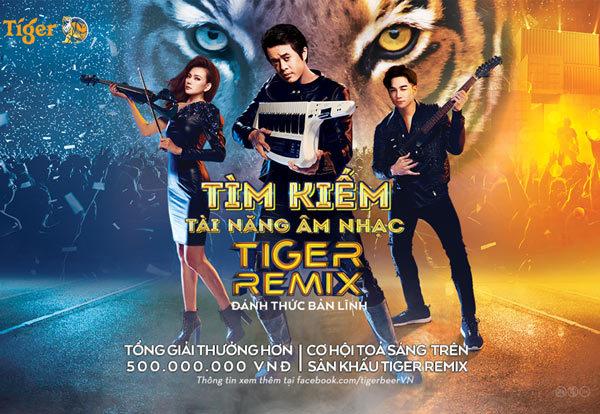 Khởi động 'Tìm kiếm tài năng âm nhạc Tiger Remix 2019'