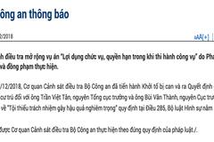 Vụ Vũ 'nhôm': Khởi tố ông Trần Việt Tân và Bùi Văn Thành