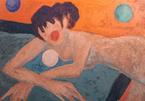 Triển lãm 32 bức tranh sơn mài trị giá hàng ngàn USD