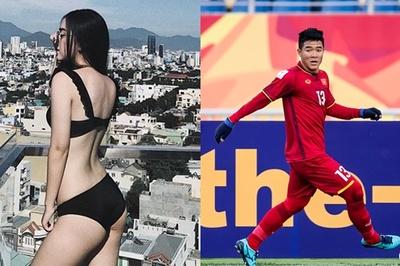 Cô gái xinh đẹp từng nắm tay Hà Đức Chinh giữa phố là ai?