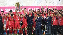 Video tuyển Việt Nam nâng cao cúp vô địch AFF Cup 2018