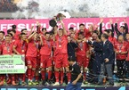 Việt Nam vô địch AFF Cup 2018: Căng thẳng, nghẹt thở rồi khóc òa...