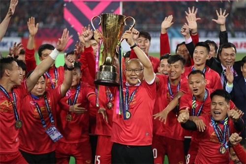 Dàn sao Hàn nô nức chúc mừng Việt Nam vô địch AFF Cup
