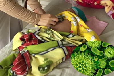 Bé trai 2 tháng tuổi nguy kịch do căn bệnh phổ biến mùa đông