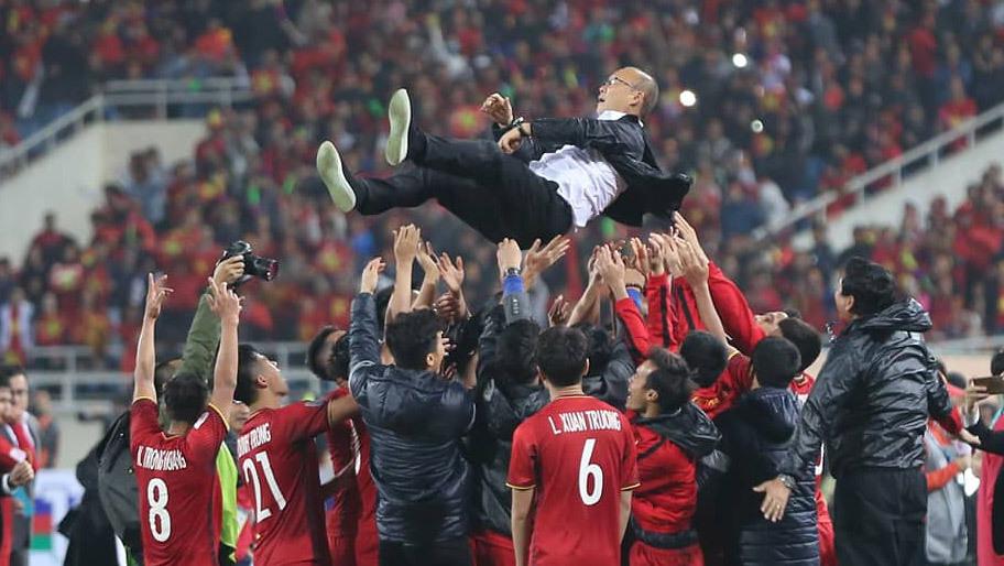Tuyển Việt Nam,chung kết AFF Cup 2018,Thái Lan,HLV Park Hang Seo