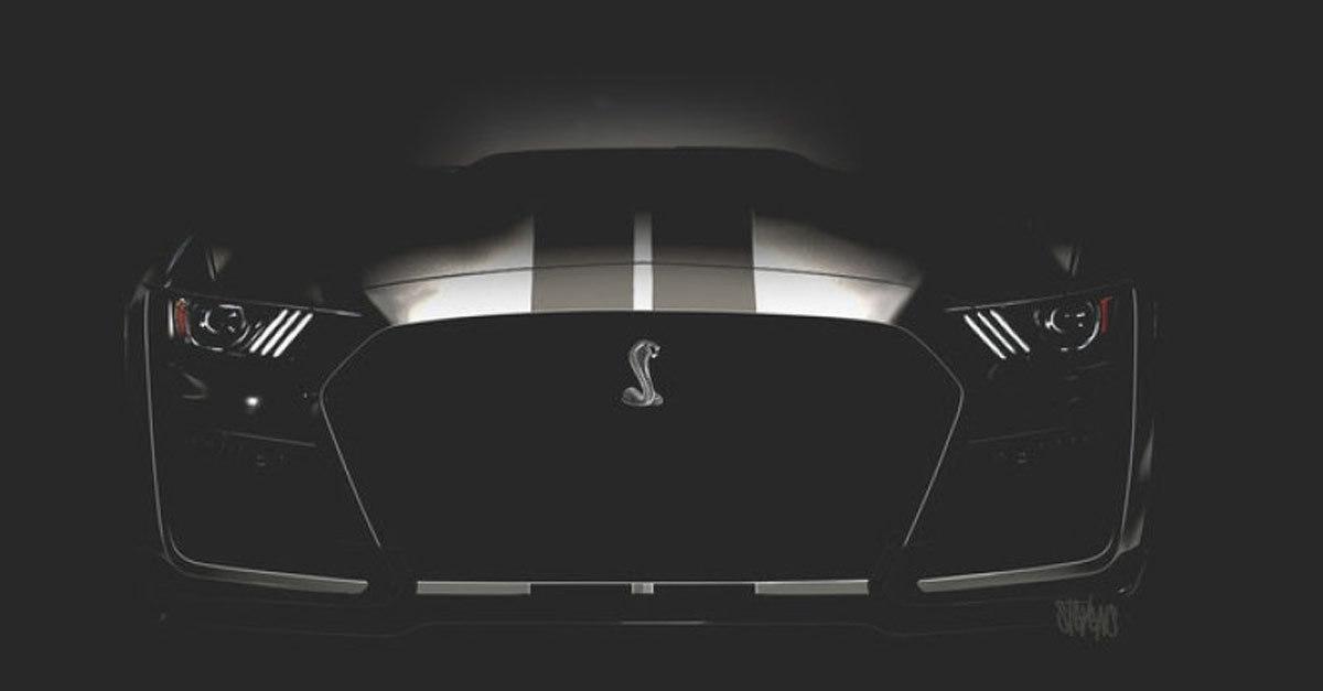 Ford đấu giá Mustang Shelby GT500 VIN 001 2020 chiếc đầu tiên làm từ thiện