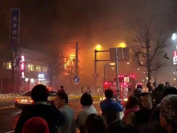Cảnh tượng tan hoang sau vụ nổ nhà hàng tại Nhật Bản