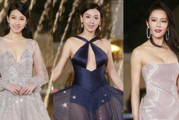 Dàn sao nữ TVB diện váy gợi cảm trên thảm đỏ