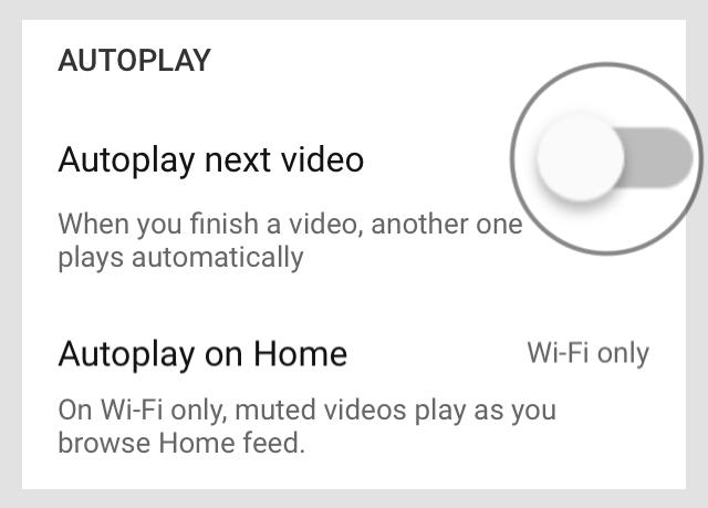 Mẹo tiết kiệm pin và 3G/4G khi xem YouTube