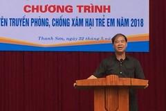 Báo cáo của Sở Giáo dục Phú Thọ về vụ hiệu trưởng bị tố xâm  hại nam sinh