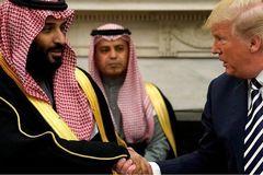 Ảrập Xêút nổi đóa với Thượng viện Mỹ