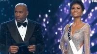 H'Hen Niê trượt top 3 Miss Universe 2018, dân mạng truy tìm biên dịch viên