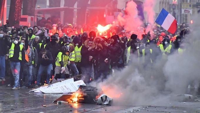 Pháp,biểu tình ở Pháp