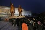 Hình ảnh Triều Tiên tưởng niệm ngày mất của cha Kim Jong Un